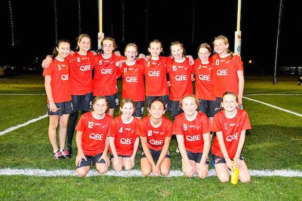 QBE Academy Cup U12 winners